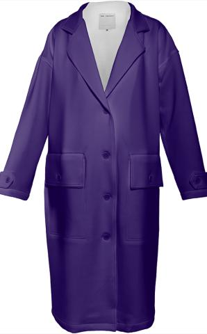 Darker Purple Trenchcoat by LadyT Designs