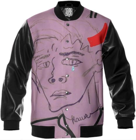 Soft Boy Lucifer Varsity Jacket