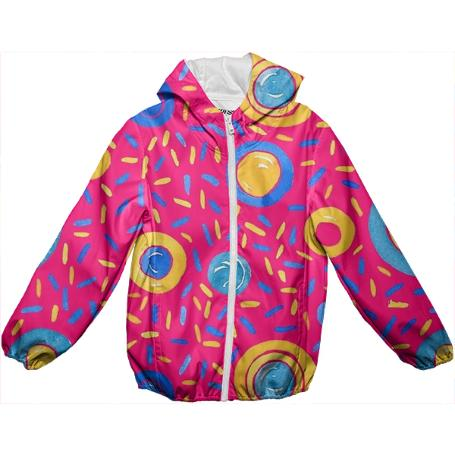 The Candy Wave KIDS RAIN JACKET
