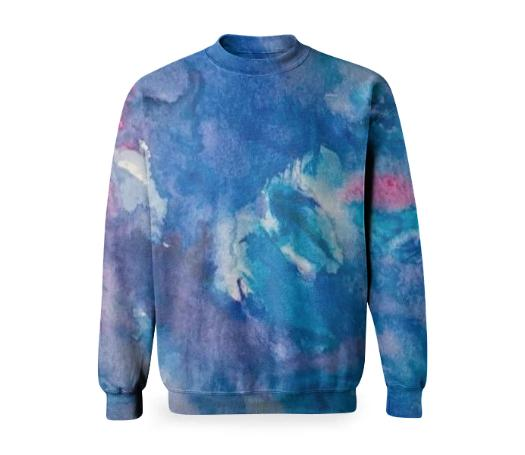 Water Swirl Sweatshirt