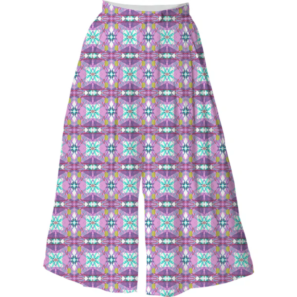 Pink Country Quilt Culotte