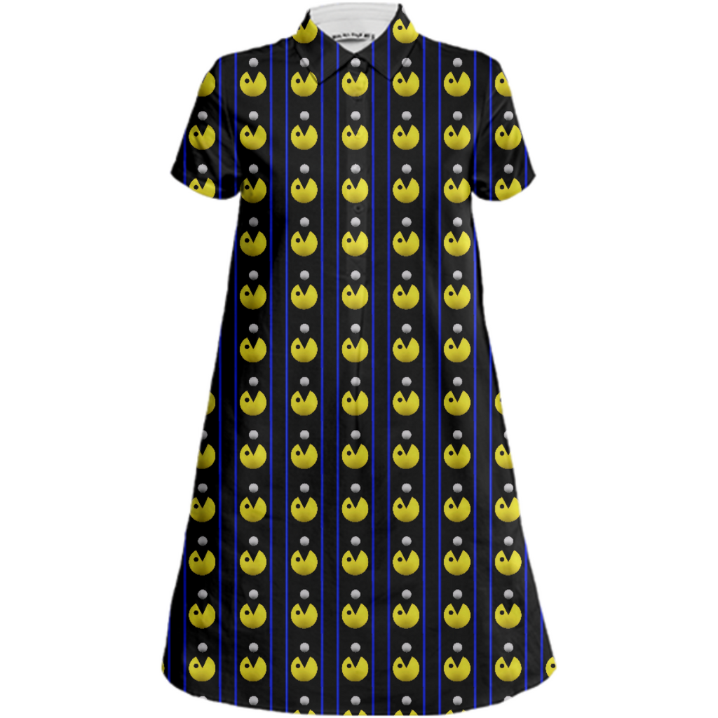 Pacman Shirt Dress