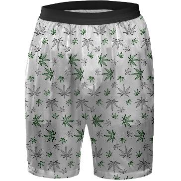 Weed Illustrated Boxers
