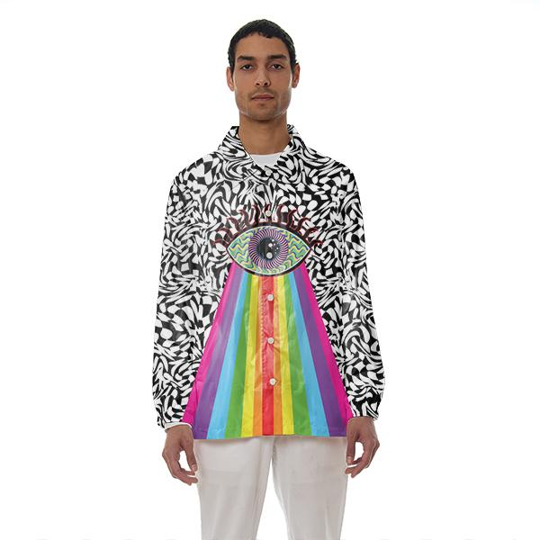 Trippy Eye Coach Jacket