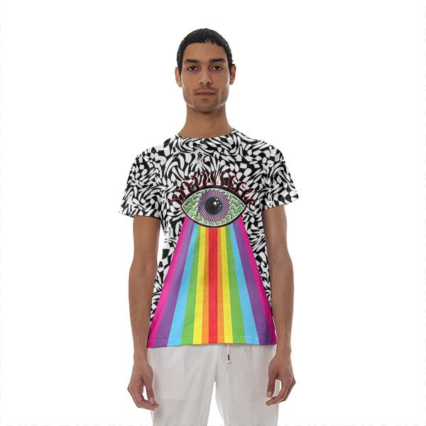 Trippy Eye Cotton T shirt