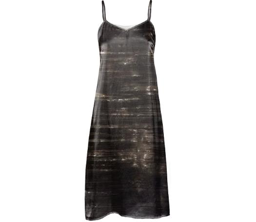 GRLZ SLIP DRESS in NIGHT