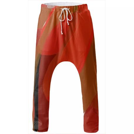 Safety Orange 90 2 Drop Pant