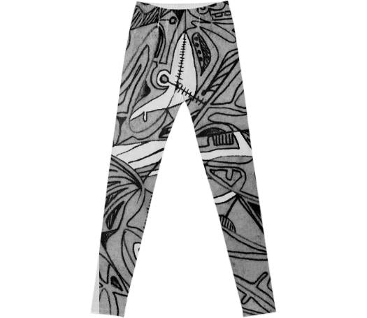Line Drawings leggings