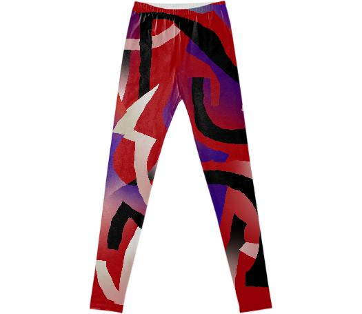 PAOM, Print All Over Me, digital print, design, fashion, style, collaboration, gambette, Leggings, Leggings, Leggings, Solar, autumn winter spring summer, unisex, Spandex, Bottoms