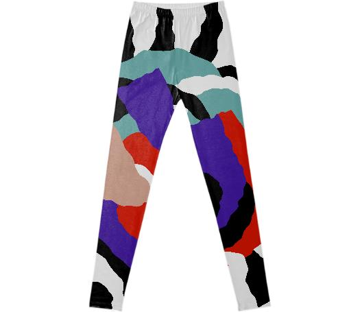 PAOM, Print All Over Me, digital print, design, fashion, style, collaboration, gambette, Leggings, Leggings, Leggings, Flame, the, forest, autumn winter spring summer, unisex, Spandex, Bottoms