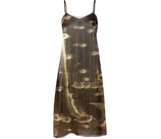 GRLZ SLIP DRESS in PRESS