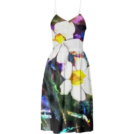 Summer Dress Floral Print daffy