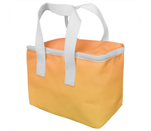 Apricot Colored Lunch bag