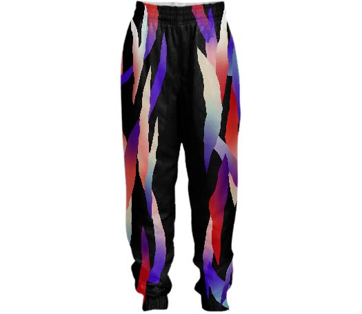 PAOM, Print All Over Me, digital print, design, fashion, style, collaboration, gambette, Tracksuit Pant, Tracksuit-Pant, TracksuitPant, Cosmos, autumn winter spring summer, unisex, Nylon, Bottoms