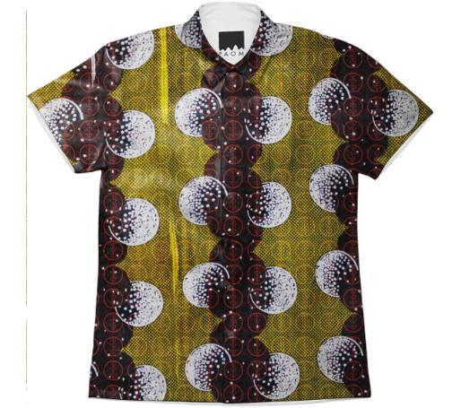 Electric Tribe Nollywood Short Sleeve Men s Button Up