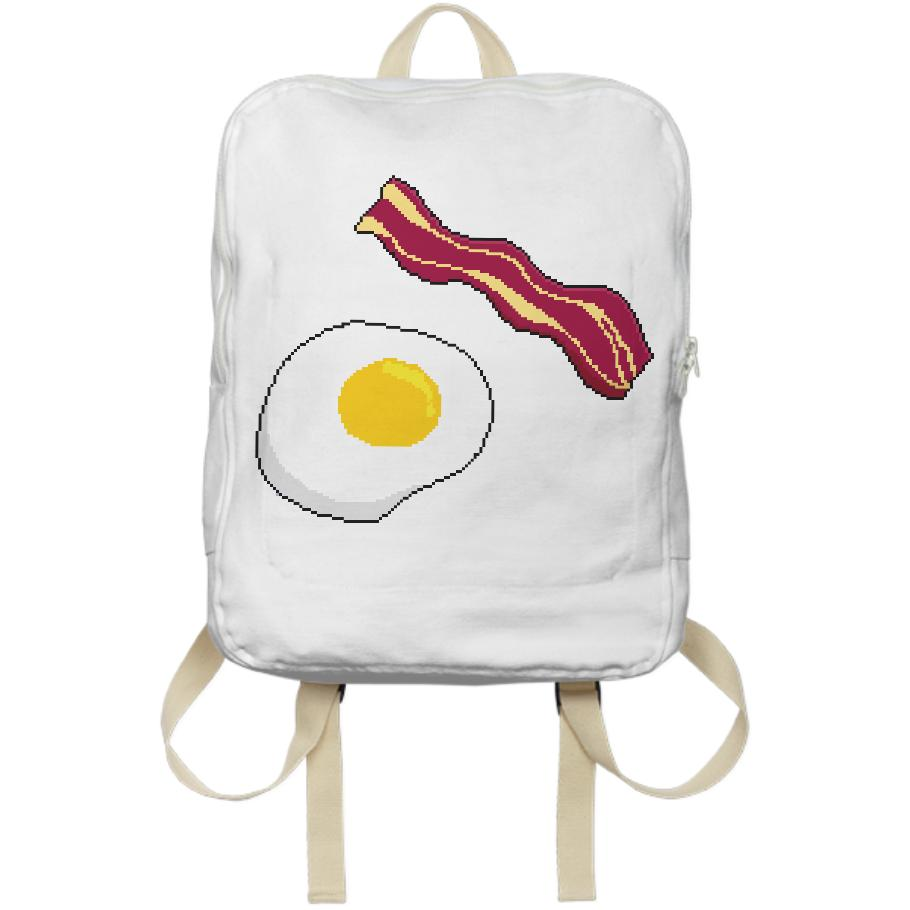 An Egg cellent Decision backpack