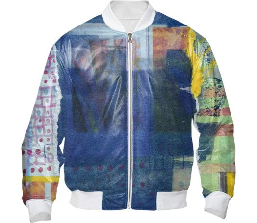 Cyanotype Collage Jacket