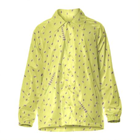 Yellow coach jacket
