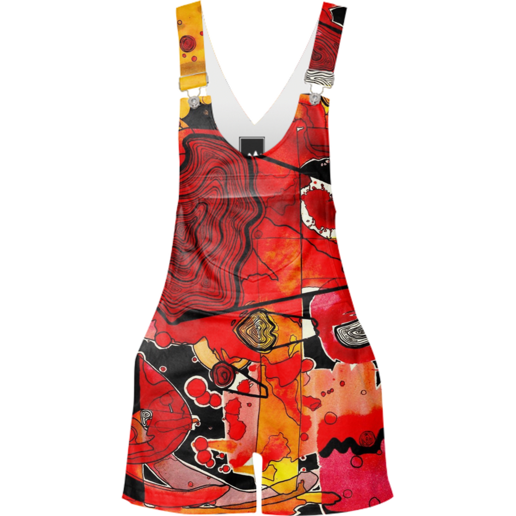 Abstract Warm Overalls
