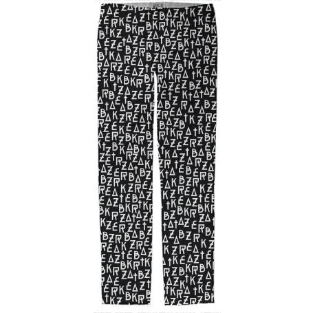 PAOM, Print All Over Me, digital print, design, fashion, style, collaboration, zebrakatz, Trouser, Trouser, Trouser, Font, autumn winter spring summer, unisex, Cotton, Bottoms