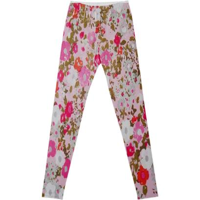 coco pink fancy leggings