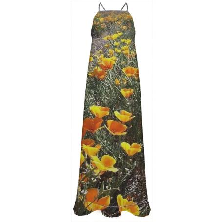 Poppies Maxi Dress
