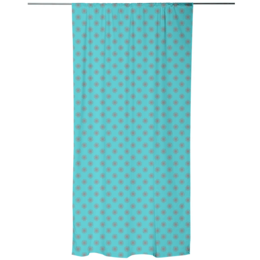 Abstract Dots Explosion Curtain