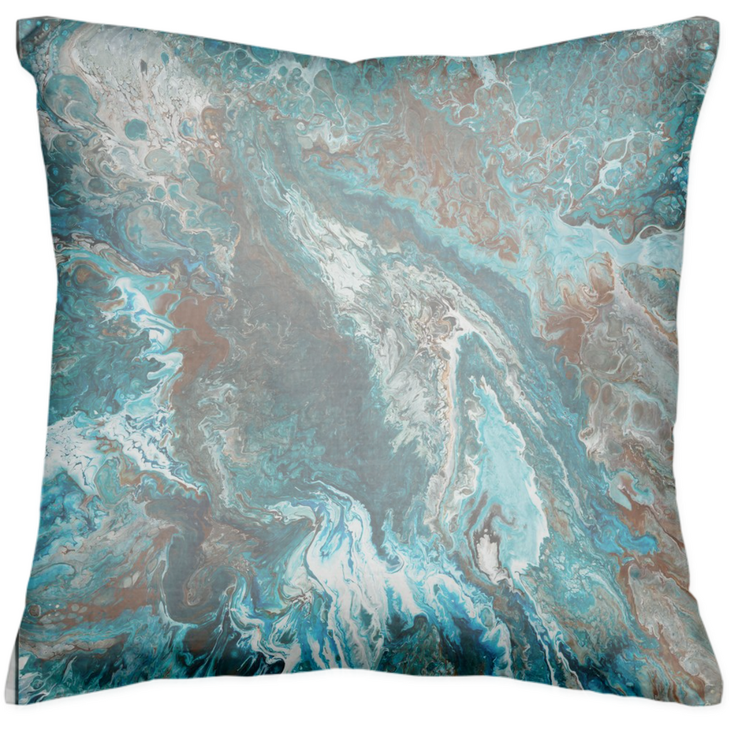 Mint Crisp Cushion