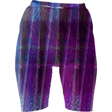 Fluorite Lanes Bike Shorts