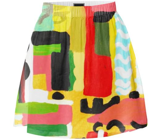 Paper Structure Skirt