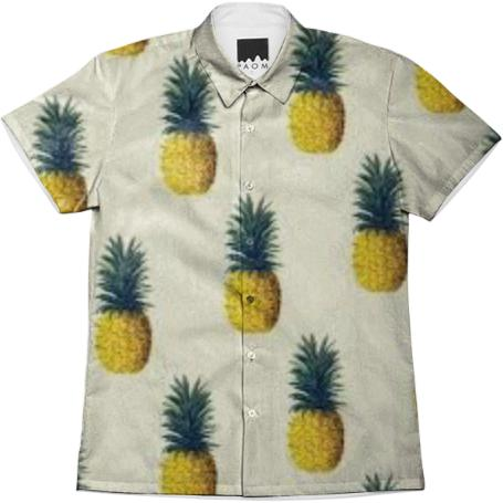 Pineapple Button Down