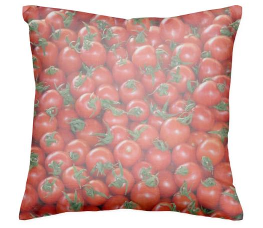 Red Cherry Tomatoes Pattern