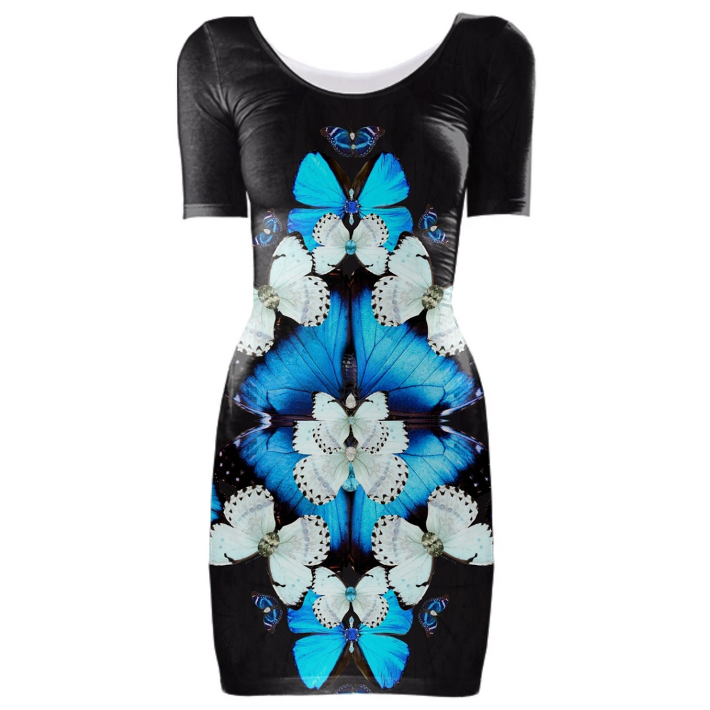 Iron Butterfly Bodycon Dress