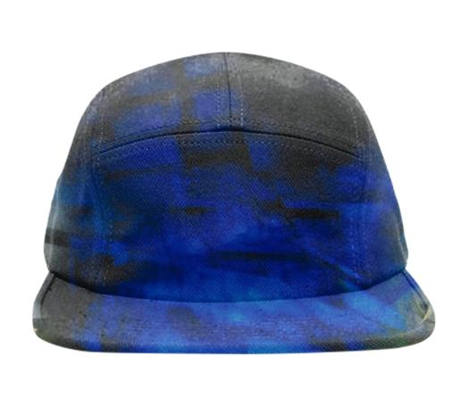 Blue Crystal Baseball Hat