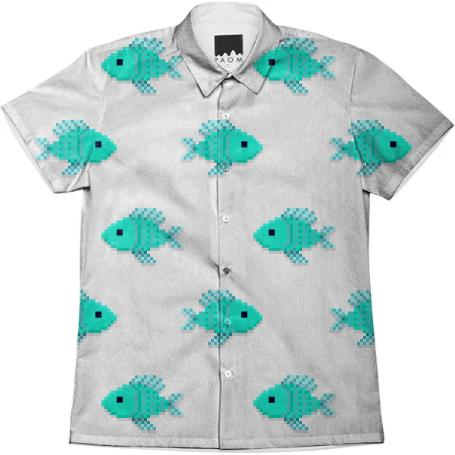 Fin tastic dress shirt