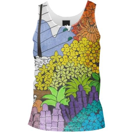 Unfinished Wonderland Tank Top Men