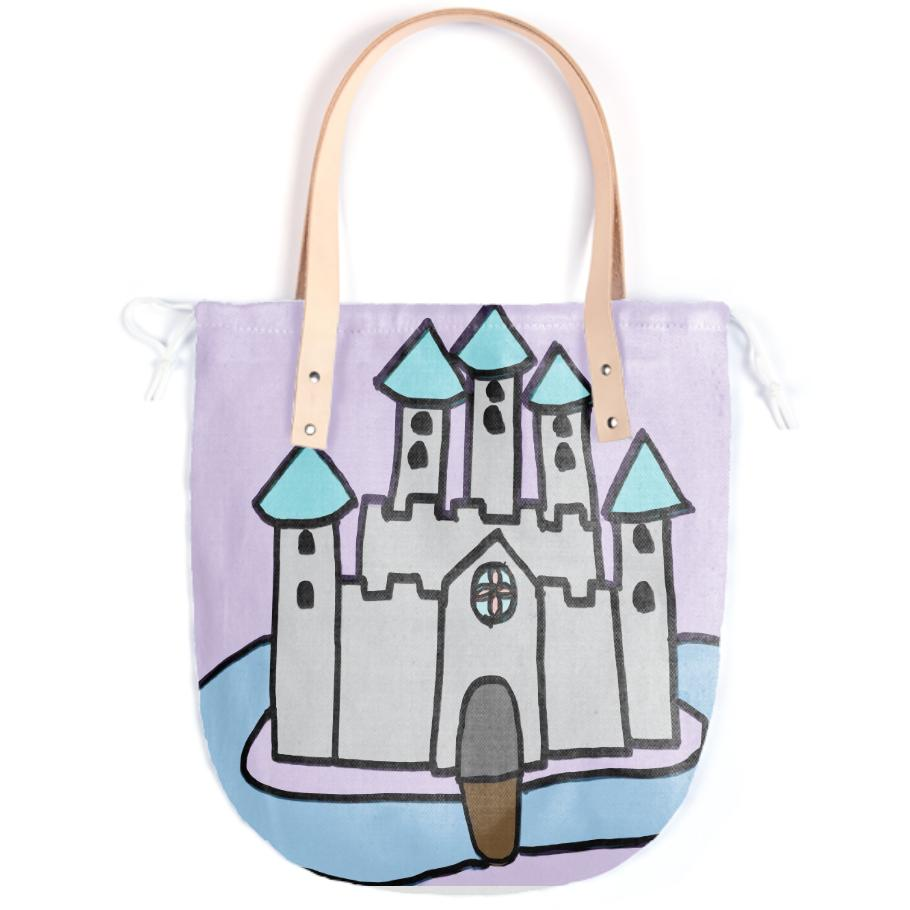 The Castle I Made For Class Tote