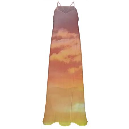 Santa Clarita Sunset Maxi Dress