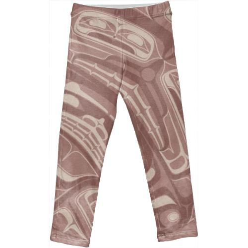 Mauve tootah leggings