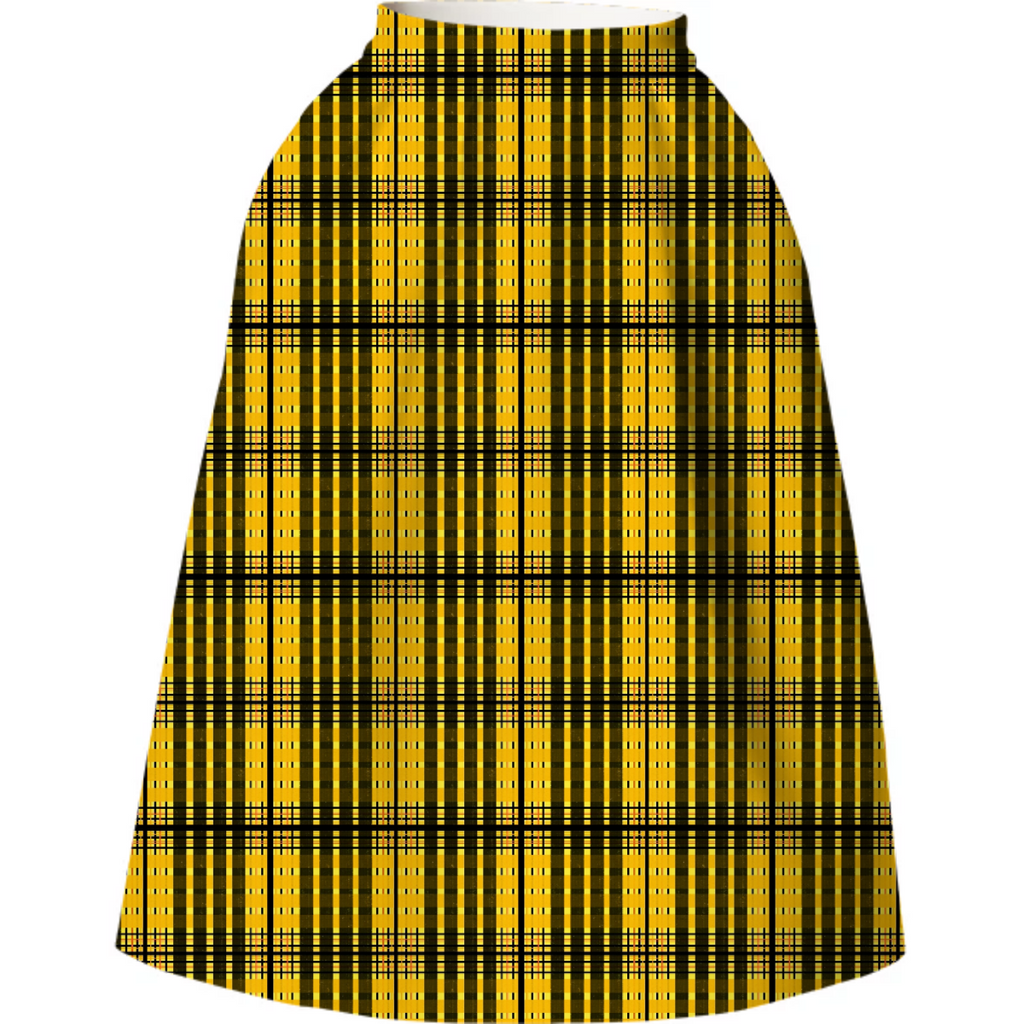Yellow Jacket Box Skirt