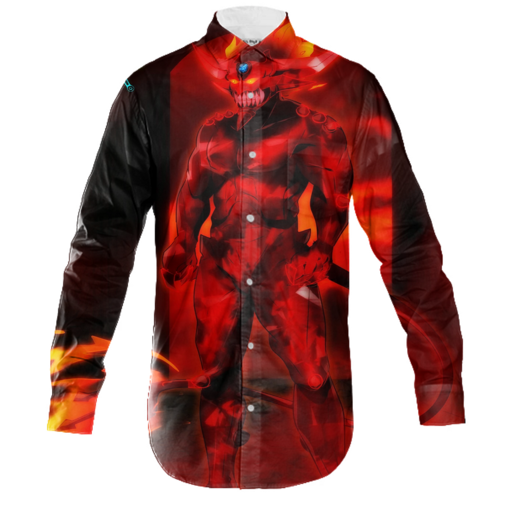 Oblivionu'crei, The Cosmos Destroyer Long Sleeve Workshirt