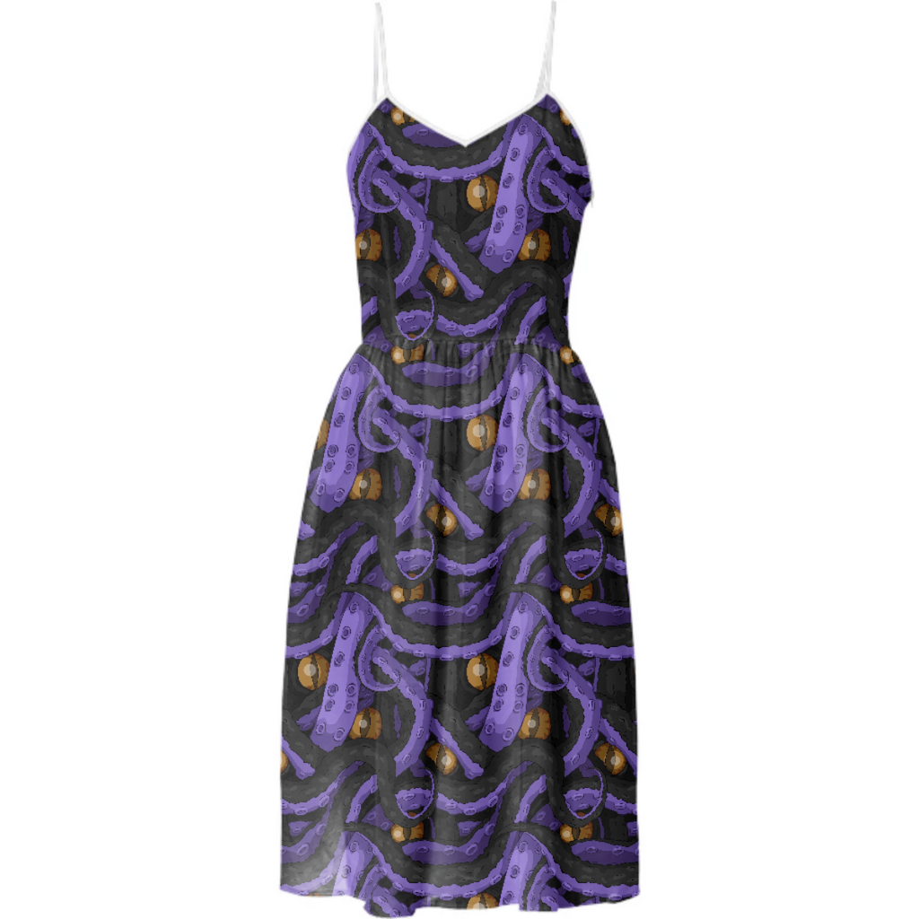 Kracken Tentacle Summer Dress