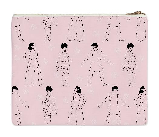 PAOM, Print All Over Me, digital print, design, fashion, style, collaboration, luisa-castellanos, luisa castellanos, Clutch, Clutch, Clutch, Twiggy, autumn winter spring summer, unisex, Poly, Bags
