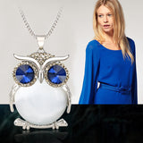 FREE Crystal Owl Necklace