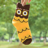 FREE Colorful Owl Socks For Women 100% Cotton