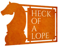Heck Of A Lope