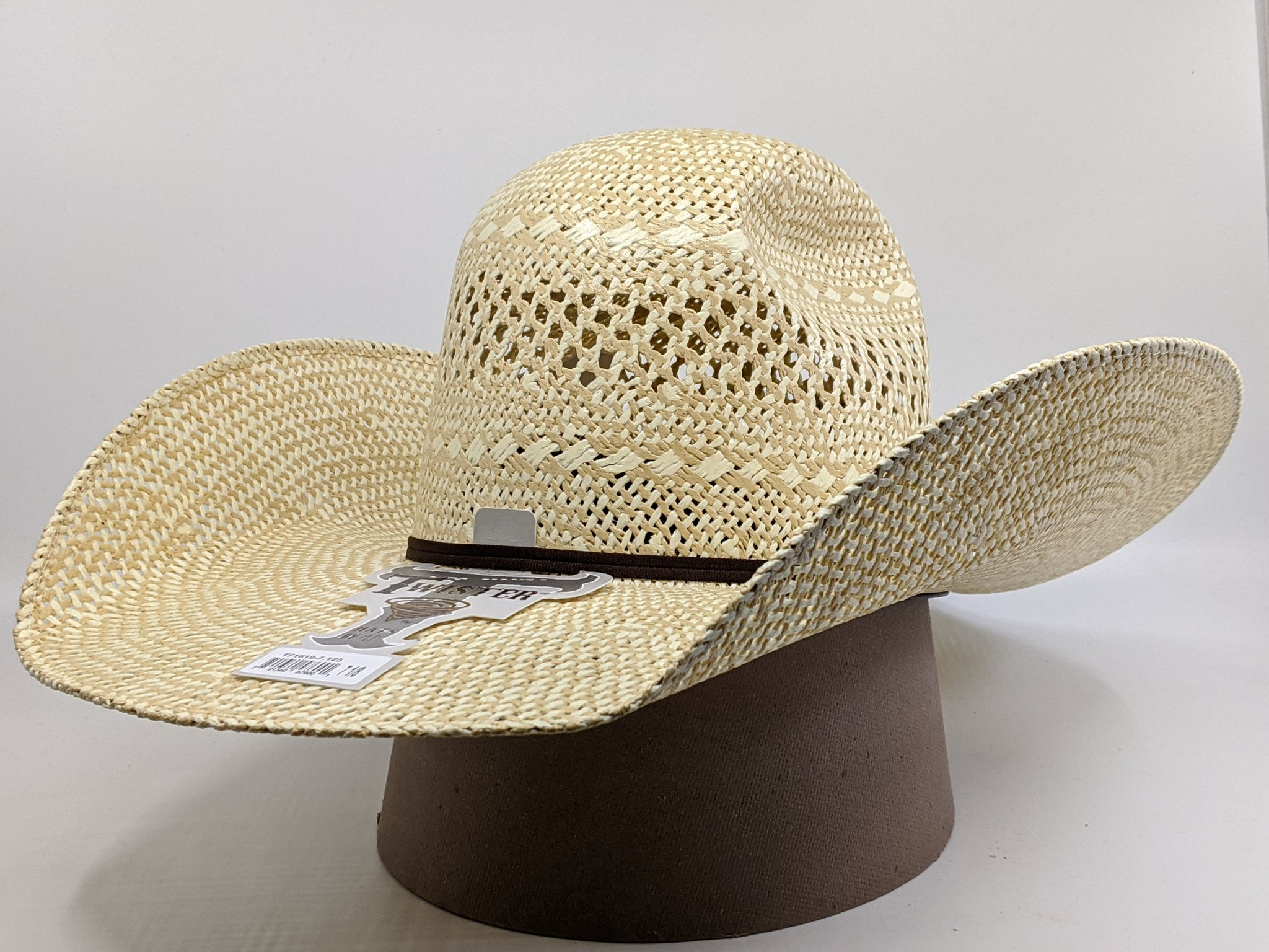 "Twister Twisted Weave Straw Hat ( 5"" Brim)"