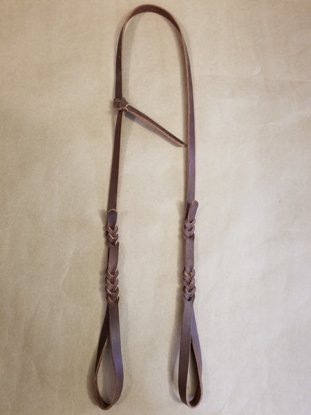 LATIGO LEATHER BOSAL HANGER W/ TIE KNOT ADJUSTMENT