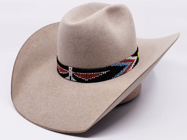 Basic Aztec Beaded Hatband