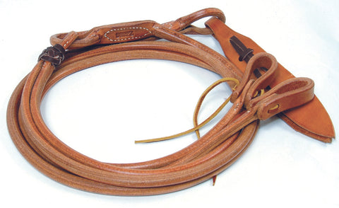 Schutz Bros Professionals Choice Harness Leather Romal Reins With Waterloops